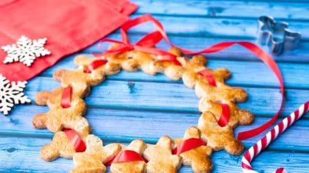 Ghirlanda di pan di zenzero: una decorazione tutta da mangiare!