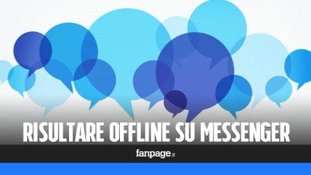 Con questo trucco potrai risultare offline nella chat di Facebook