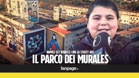 Il Parco dei Murales: la periferia di Napoli rinasce con la street art