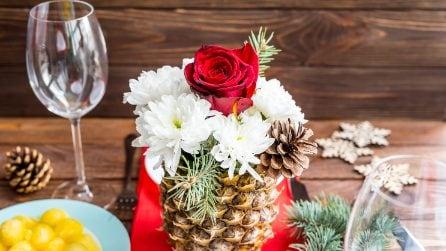 Come realizzare un vaso con un'ananas