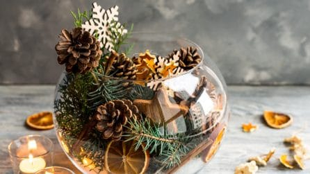 Come fare delle decorazioni con la buccia d'arancia