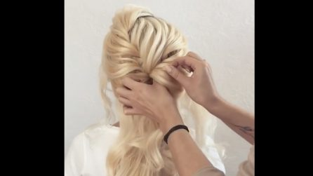 Intreccia i capelli in questo modo: una pettinatura da principessa