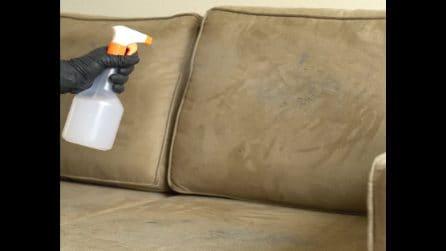 Come pulire il divano con l'aceto: un rimedio efficace