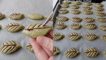 Biscotti a forma di foglia: originali e golosi