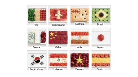 Qual è la bandiera di cibo sbagliata?