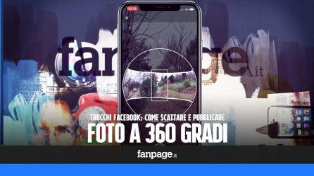 Con la fotocamera di Facebook puoi scattare (e pubblicare) foto a 360 gradi: ecco come