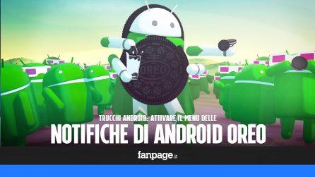 Con questo trucco puoi attivare il menu delle notifiche di Android Oreo (e senza root)