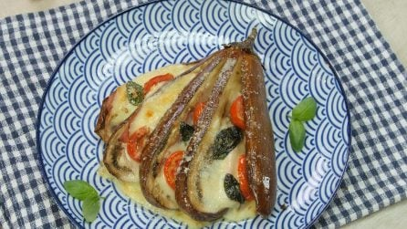 Hasselback eggplant: a unique way to prepare and serve this fantastic side-dish