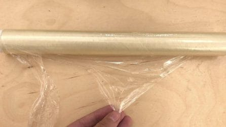 La pellicola per alimenti si rompe: ecco un metodo per evitarlo