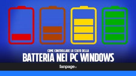 Con questa app puoi controllare lo stato di salute della batteria in Windows