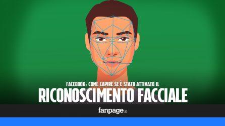 Come capire se il riconoscimento facciale di Facebook è attivo sul profilo