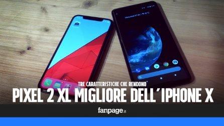 Perché il Google Pixel 2 XL è meglio dell'iPhone X