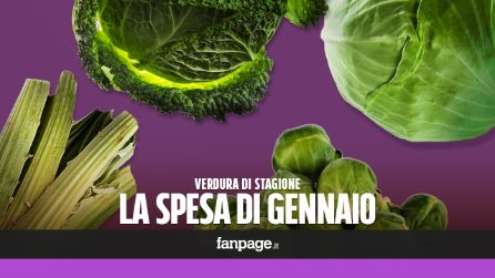 La verdura di stagione: cosa comprare a gennaio
