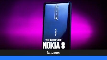 Video recensione Nokia 8: caratteristiche tecniche e prestazioni del top di gamma Android in Italia