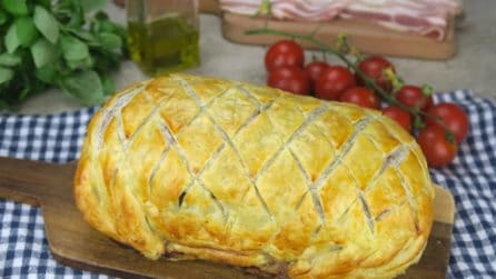 Fillet wrapped in puff pastry: a spectacular dish that is perfect for the holidays!