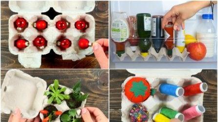 Come riciclare i cartoni delle uova