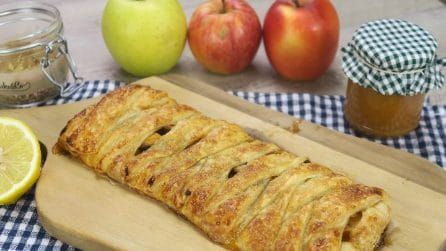 Quick apple strudel: here is how to prepare one in just a few minutes!