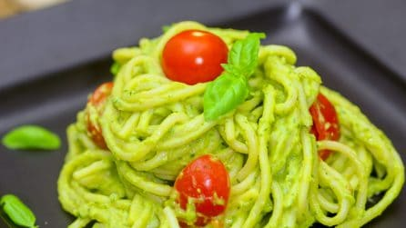 Avocado pasta: easy and delicious
