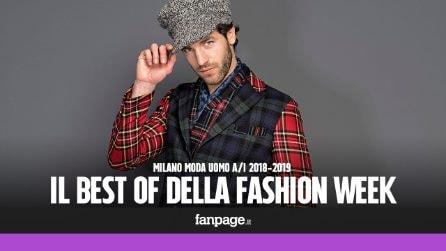 Milano Moda Uomo, le migliori collezioni A/I 18-19