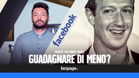 La nuova ambizione di Facebook è di restringersi