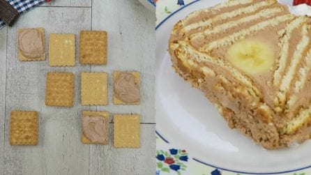 Tronchetto di biscotti ripieno: quello che c'è dentro vi lascerà senza parole!