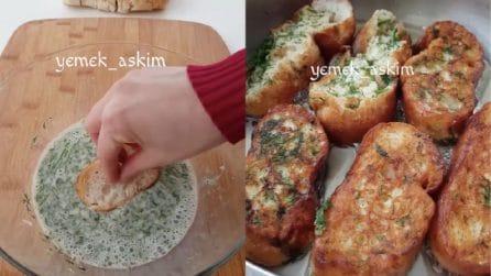 Mette le fette di pane nel latte: una soluzione gustosa per riutilizzarlo