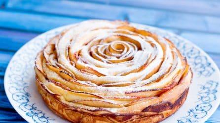 Torta di mele arrotolata: l'idea geniale in pochi minuti!