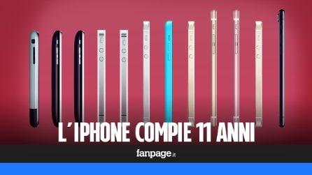 11 anni di iPhone, l'evoluzione dello smartphone di Apple