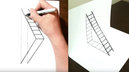 Come disegnare una scala in 3D