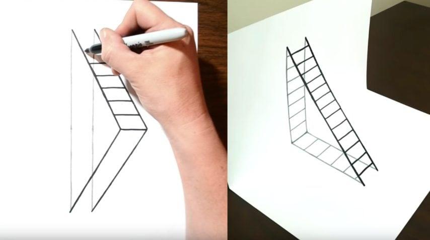 Come Disegnare in 3D: 5 Passaggi (con Immagini)