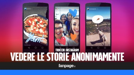 Con questo trucco potrai vedere le storie di Instagram anonimamente