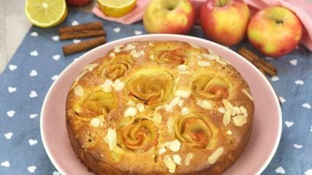Apple Rose Cake: here's how to make it beautiful and even tastier