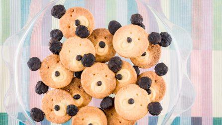 Biscotti a forma di orsacchiotto: perfetti per la merenda dei più piccoli!