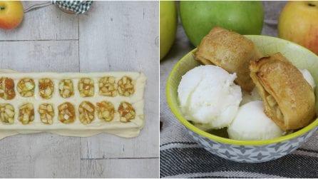 Bocconcini di mele: ecco come prepararli con un contenitore del ghiaccio!