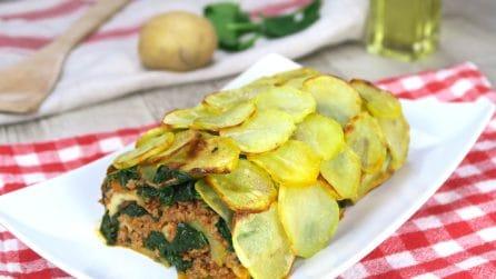 Rotolo croccante di patate: originale, delizioso e facile!