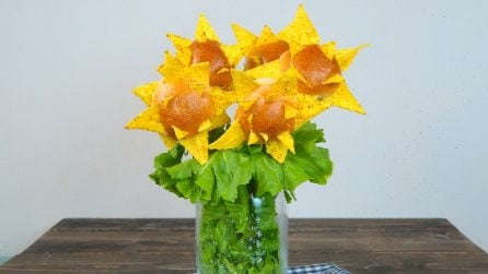 Sunflower sandwiches: a tasty and creative idea