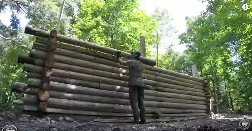 Case Con Tronchi Di Legno : Case in legno case prefabbricate case ecologiche in legno bio