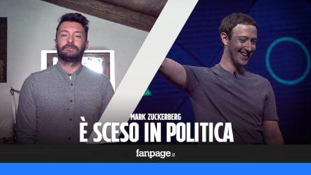 Mark Zuckerberg è entrato in politica