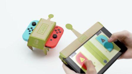 Nintendo Labo, quando i videogiochi diventano di cartone