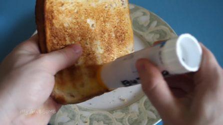 A prima vista potrebbe sembrare uno stick di colla: un'idea geniale in cucina