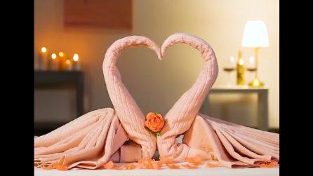 Come Piegare Gli Asciugamani In Albergo : Come piegare un asciugamano a forma di fiore l idea per