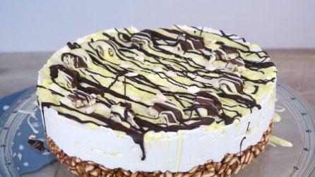 Cheesecake cioccolato e cereali, troppo golosa per non provarla!