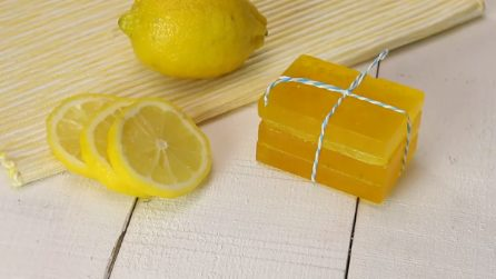 Come fare il sapone a limone in casa