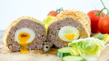 Family Sized Baked Scotch Egg