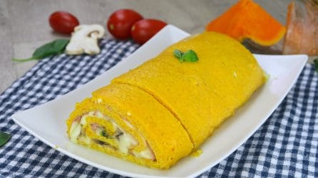 Pumpkin roulade: a unique and tasty recipe!