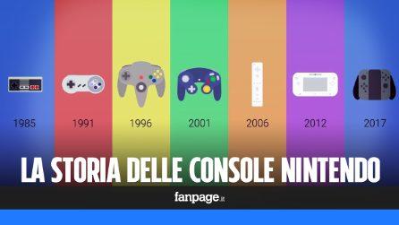 L'evoluzione delle console Nintendo