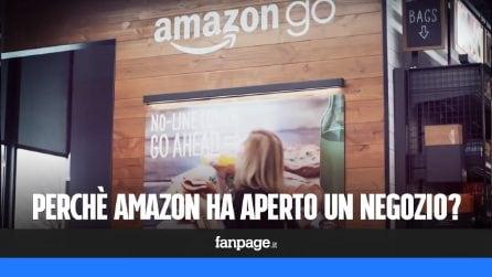 Perché Amazon ha aperto un negozio senza casse?