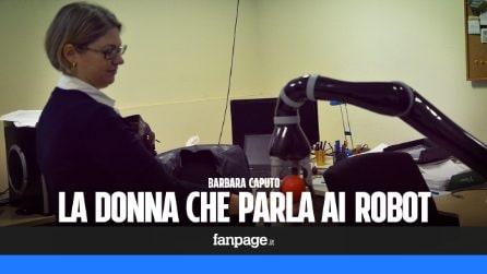 Barbara Caputo, la donna che parla ai robot