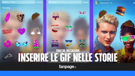 Trucchi Instagram: come inserire le GIF animate nelle storie