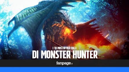 I 10 mostri più folli di Monster Hunter